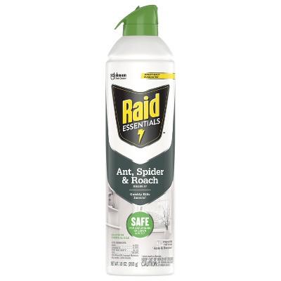 Raid Essentials Ant, Spider & Roach Killer 27 Aerosol - 10oz