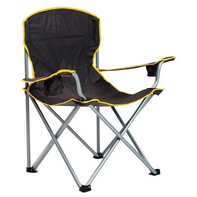 Quik Chair Heavy Duty Folding Chair - Black