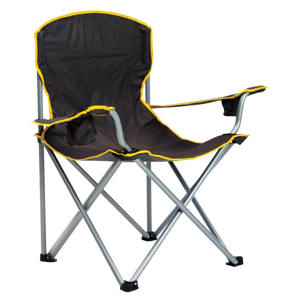 Image of Quik Chair Heavy Duty Folding Chair - Black