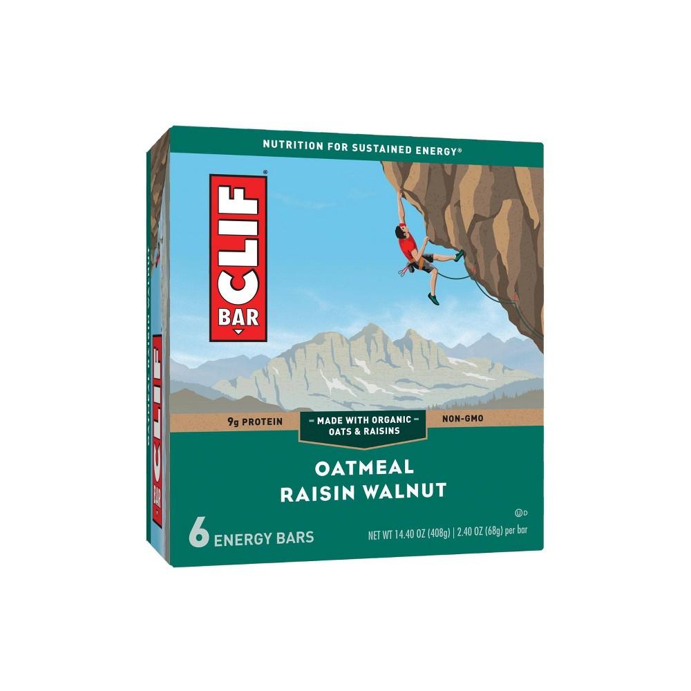 Clif Bar Oatmeal Raisin Walnut Energy Bars 6ct