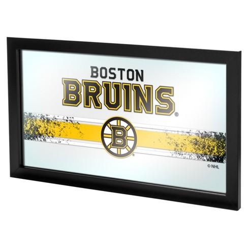 NHL Boston Bruins Framed Logo Mirror - image 1 of 1