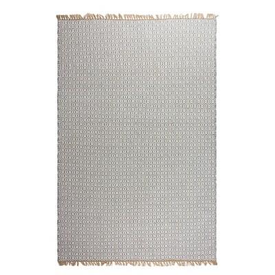Lancut Patio Rug Gray 5' x 8' - Fab Habitat