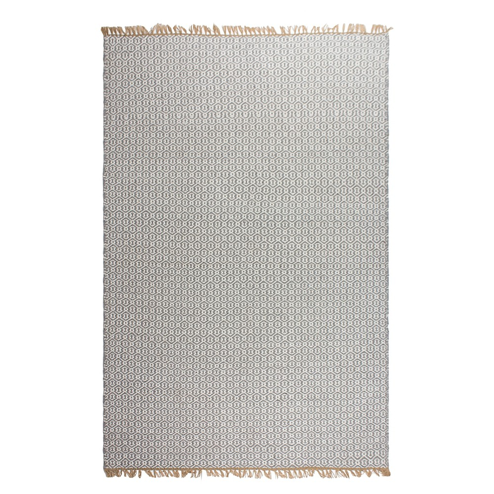 Image of Lancut Patio Rug Gray 8' x 10' - Fab Habitat, Size: 8'X10'