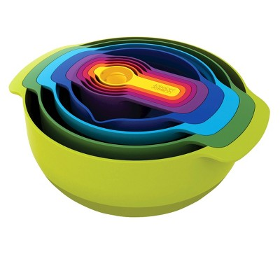 Joseph Joseph® Nest™ Plus 9 Piece Nesting Mixing Bowls and Measuring Set