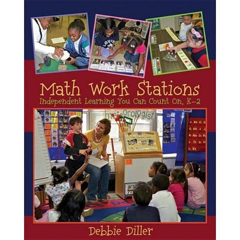 Math Work Stations - by  Debbie Diller (Paperback) - image 1 of 1