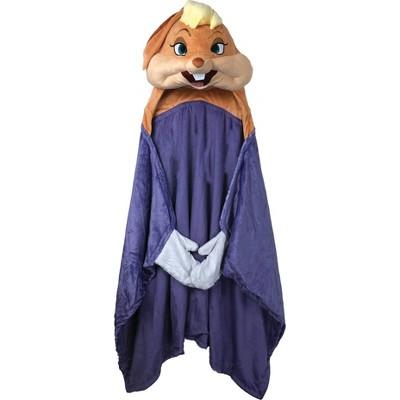 Space Jam Lola Bunny Hooded Blanket