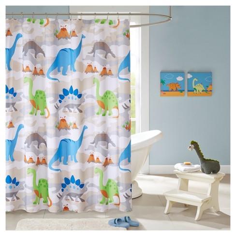 Dinosaur Shower Curtain Target