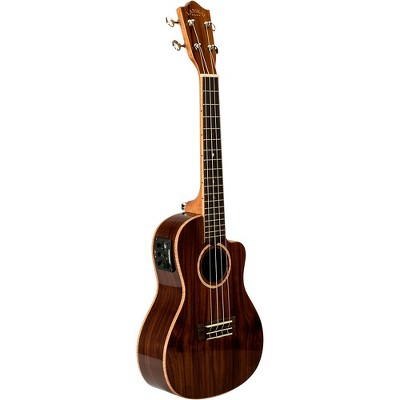 Lanikai MRS-CEC All-Solid Morado Concert with Kula Preamp Acoustic-Electric Ukulele Gloss Natural