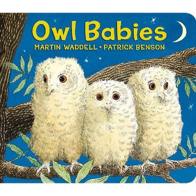 Owl Babies Lap-Size Board Book - by Martin Waddell (Board_book)