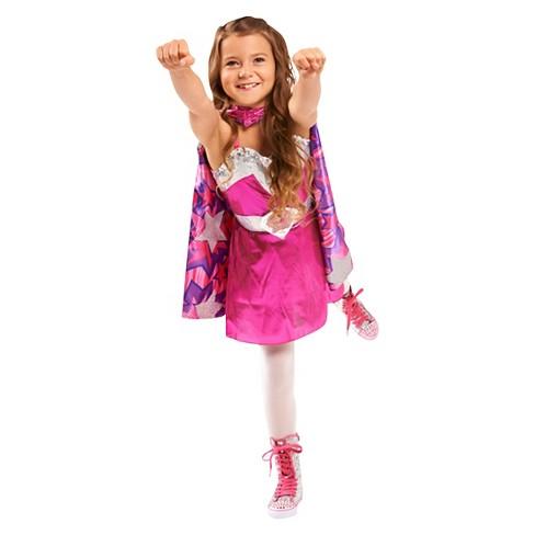 Princess Power Dress With Cape