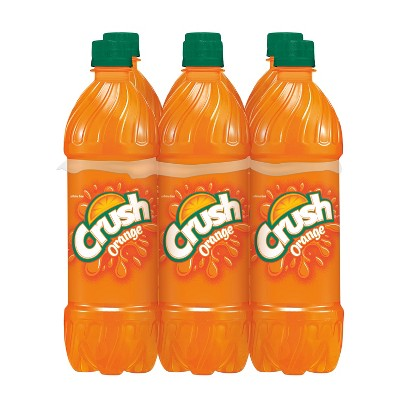 Crush Orange Soda - 6pk/0.5 L Bottles