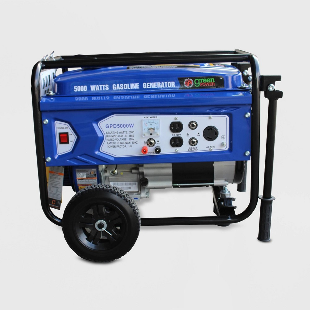 Image of 5000W Generator Blue - Green-Power