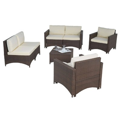 6pc Studio Shine Collection With Loveseat Chairs And Coffee Table W Unlimited Target