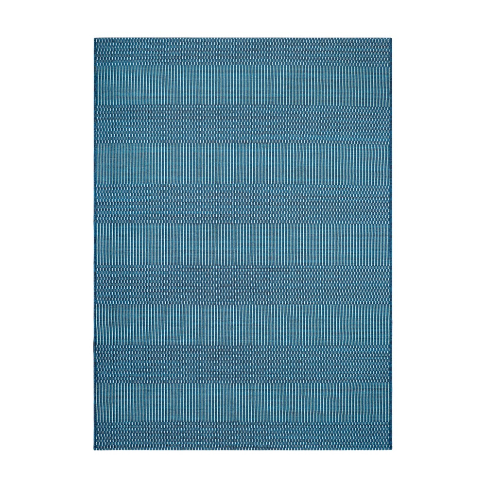 Coupons 5' x 7' Outdoor Rug Geo Weave Teal - Project 62™