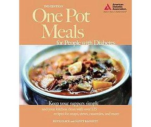 One Pot Meals for People With Diabetes (Paperback) (Ruth Glick) - image 1 of 1