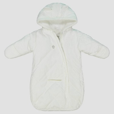 Baby Girls' Pram Snowsuit - Just One You® made by carter's Ivory One Size