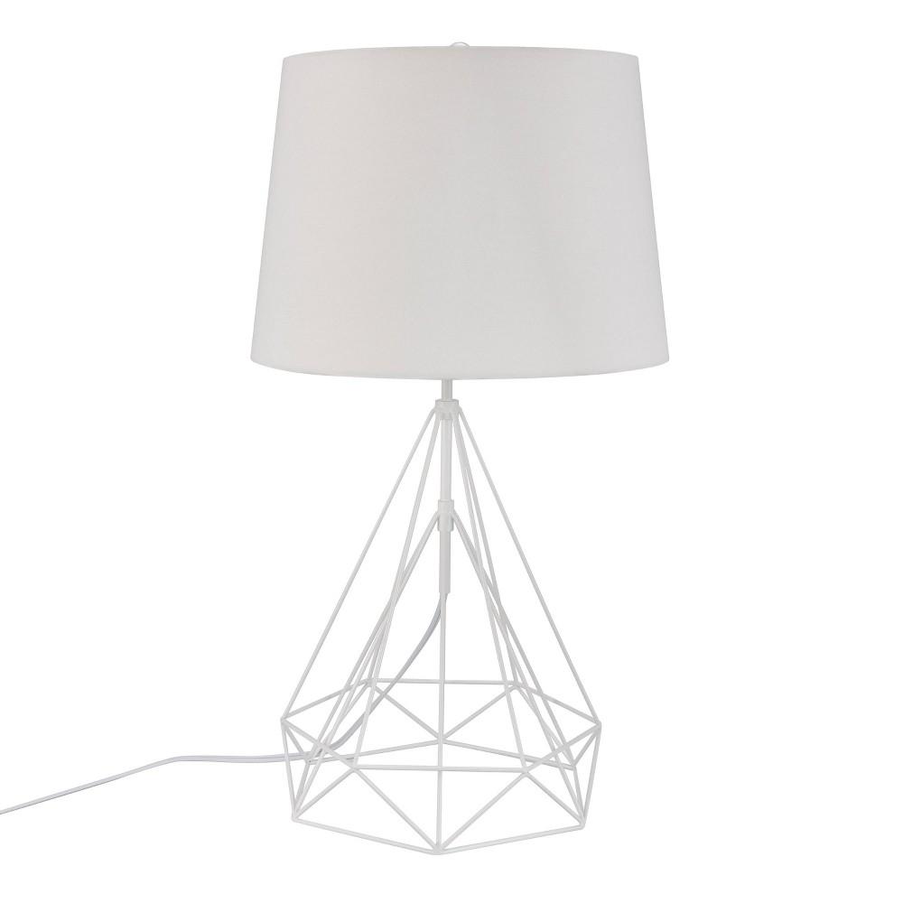 Best Sale Jonbla Metal Table Lamp White Includes Energy Efficient Light Bulb Aiden Lane