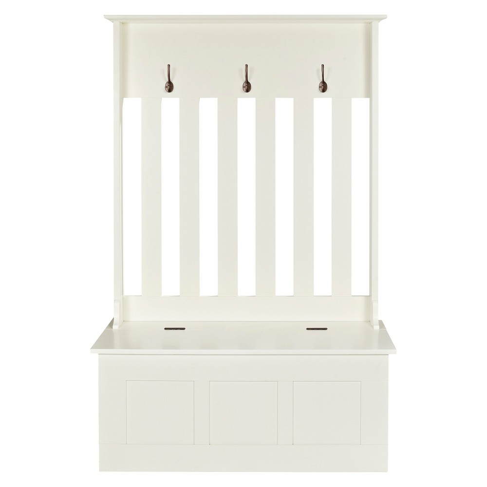 Crosley Ogden Entryway Bench - White