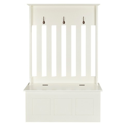 Crosley Ogden Entryway Bench - White - image 1 of 4