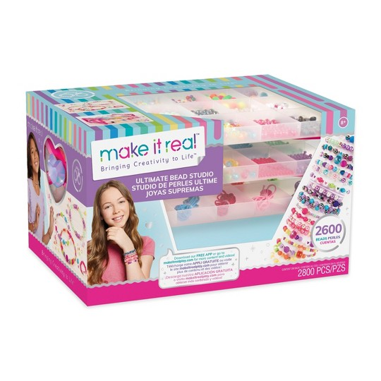 Make It Real Bead Drawer Jewelry Kit, Adult Unisex image number null