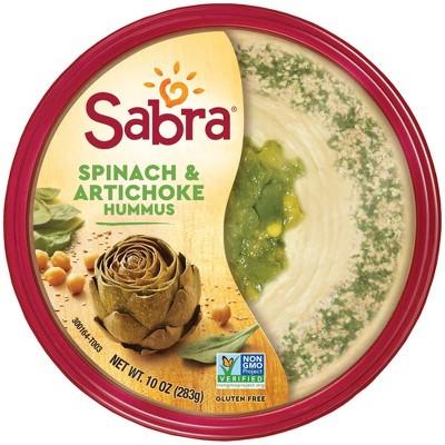 Sabra Spinach And Artichoke Hummus - 10oz