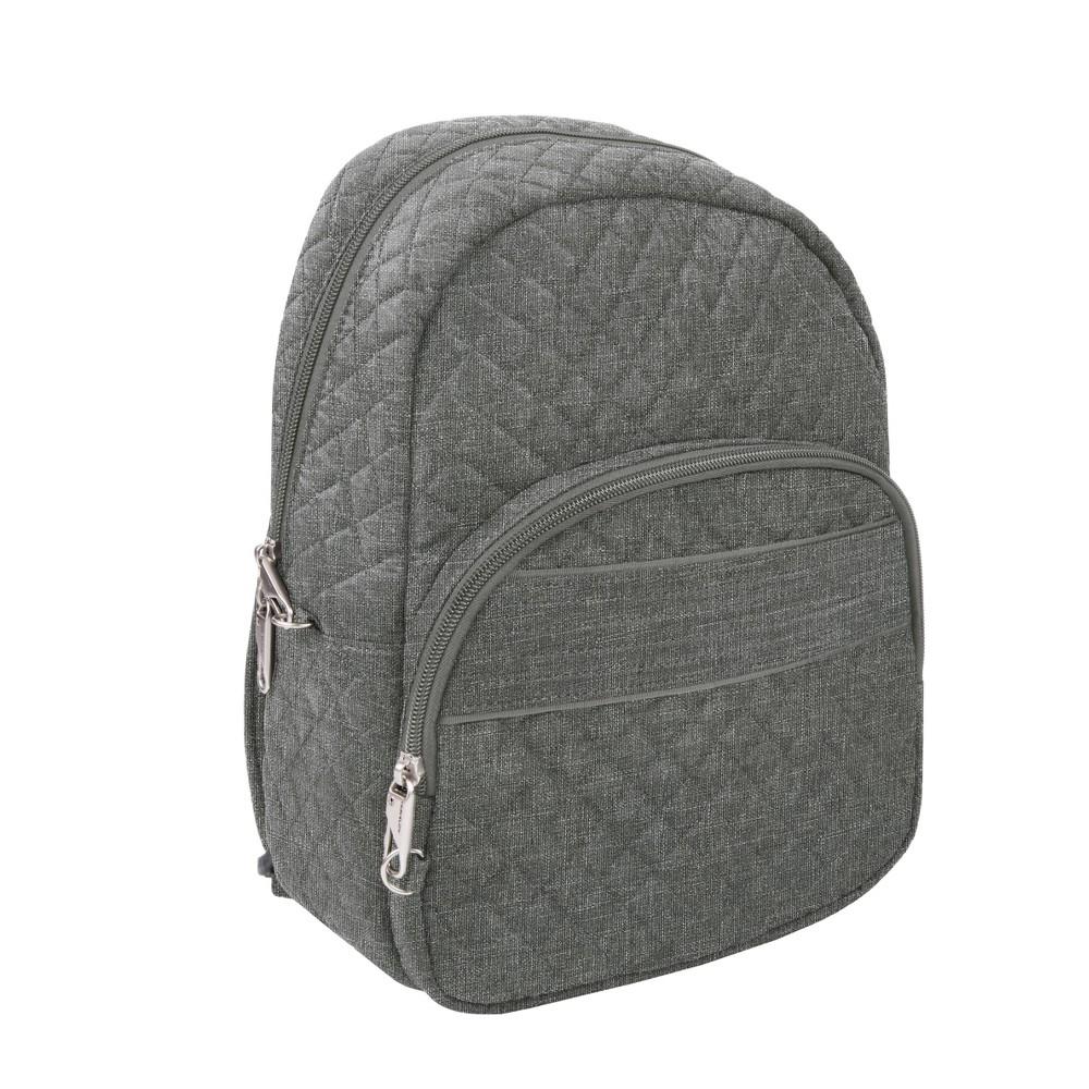 """Image of """"Travelon 13"""""""" RFID Anti-Theft Boho Backpack - Gray"""""""