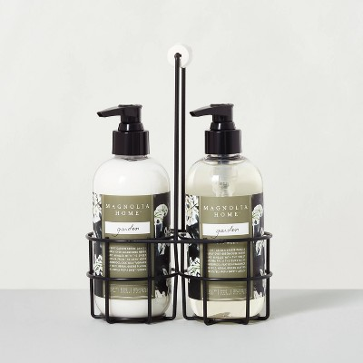 Hand Soap + Lotion Caddy Set Garden - Magnolia Home by Joanna Gaines