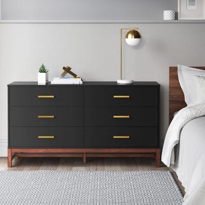 guthrie two tone 6 drawer dresser project 62 target rh target com Menards Bedroom Dressers Rustic Tall Bedroom Dressers Walmart