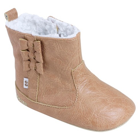 Baby Girls' Surprize by Stride Rite® Bridget Mini Boots - Brown - image 1 of 4