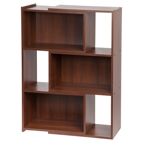 "IRIS Expandable 42"" 3-Shelf Bookshelf - Dark Brown - image 1 of 4"