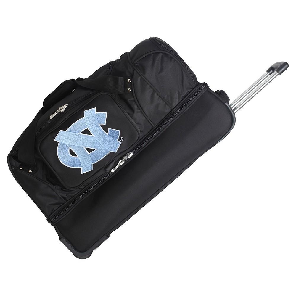 NCAA North Carolina Tar Heels 27'' Rolling Drop Bottom Duffel Bag