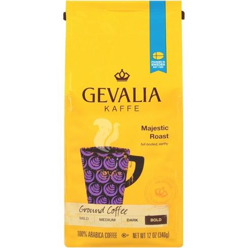 Gevalia Bold Majestic Roast Dark Roast Ground Coffee - 12oz - image 1 of 4