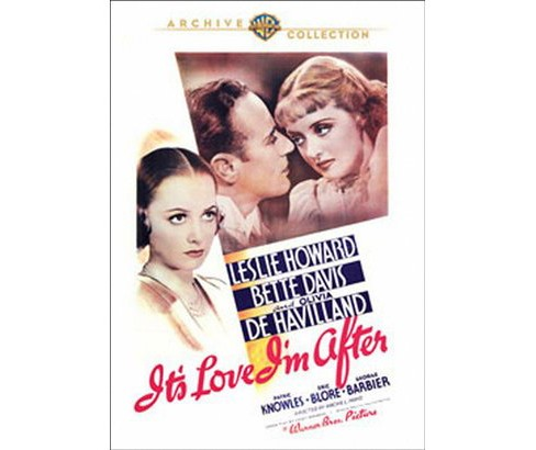 It's love i'm after (DVD) - image 1 of 1