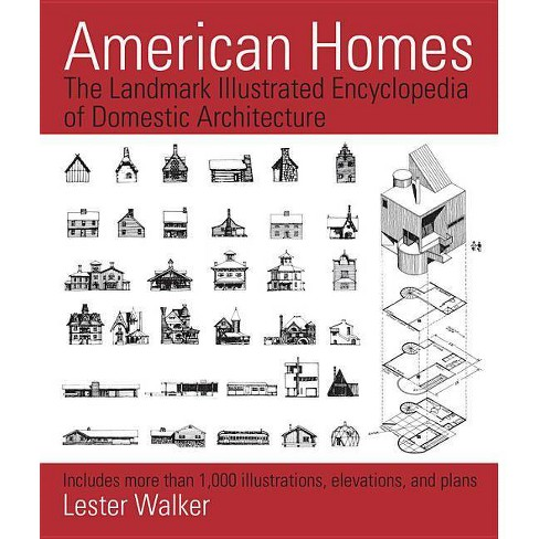 American Homes - by  Lester Walker (Paperback) - image 1 of 1
