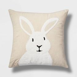 Bunny Throw Pillow Neutral - Threshold™
