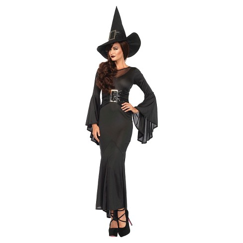 Women's Witch 2pc Costume M/L - image 1 of 1