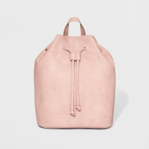 Drawstring Backpack - Universal Thread™ Blush - image 1 of 4