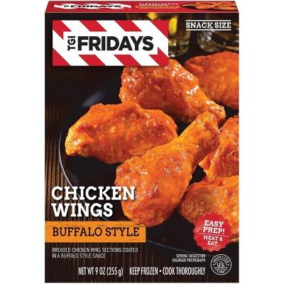T.G.I. Friday's Frozen Buffalo Bone-In Wings -  9oz