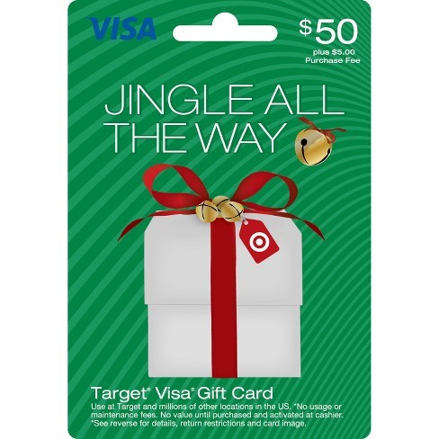 Visa Holiday Gift Card - $50 + $5 fee - image 1 of 1