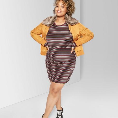 e86dd388b75c7 Women s Plus Size Removable Faux Fur Collar Bomber Jacket - Wild Fable™  Caramel