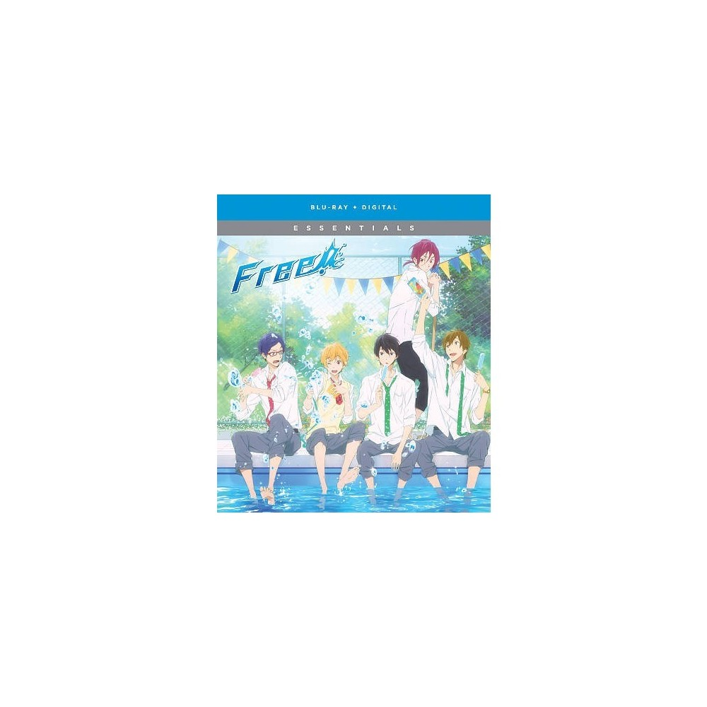 Free Iwatobi Swim Club Season One Es (Blu-ray)