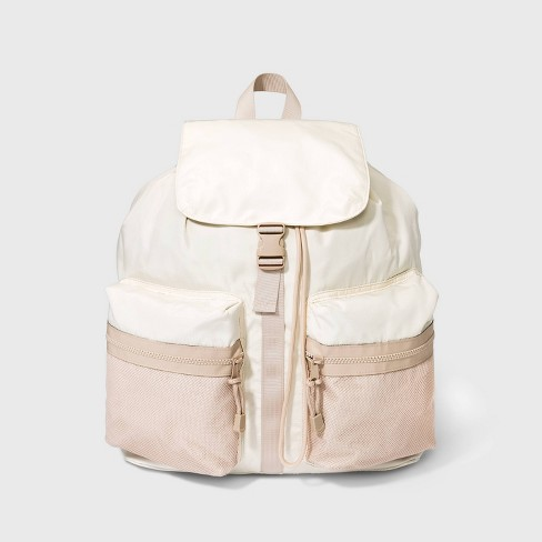 Buckle Flap Drawstring Closure Backpack - Wild Fable™ - image 1 of 4