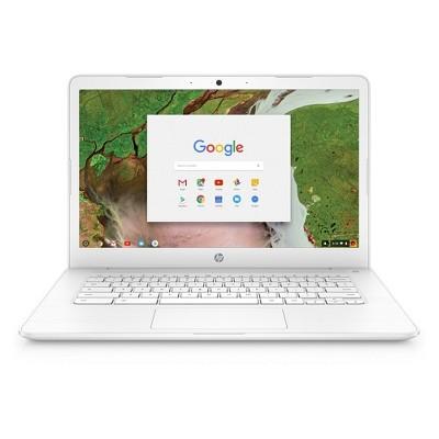 HP 14  Touchscreen Chromebook model 14-ca021nr - White