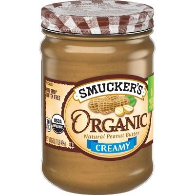 Peanut & Nut Butters: Smucker's Organic