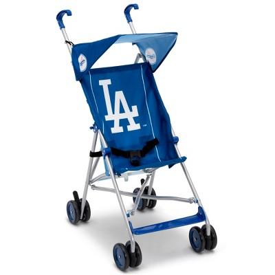 Delta Children MLB Los Angles Dodgers Lightweight Umbrella Stroller