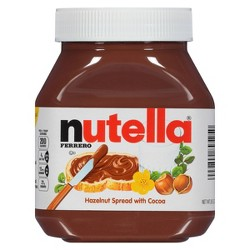 Nutella Ferrero Chocolate Hazelnut Spread - 26.5oz