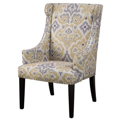 Bella High Back Wing Chair
