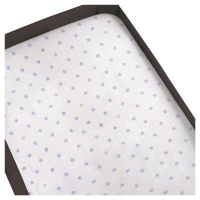 Aden® by Aden + Anais® Playard Crib Sheet - Dashing