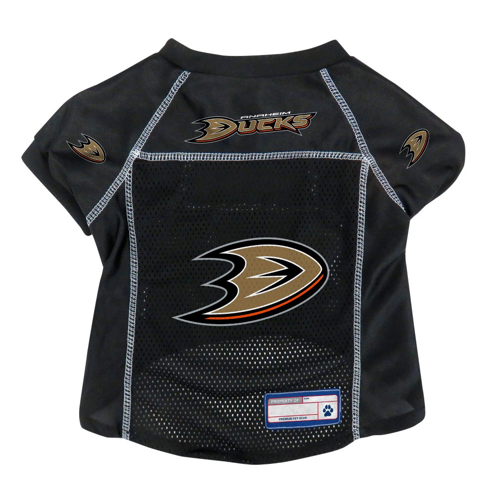 NHL Anaheim Ducks Pet Jersey - M, Multicolored