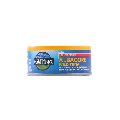 Wild Planet Wild Albacore Tuna No Salt Added - 5oz